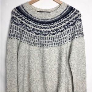 Joie Fair Isle Sweater Wool/Alpaca Blend